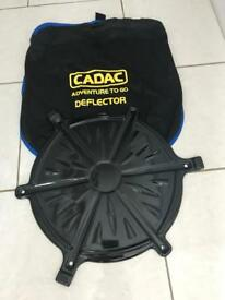 Cadac heat deflector plate with cadac bag