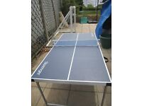 Table Tennis Table Ideal size for Children