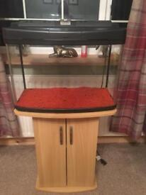 64l fish tank and stand