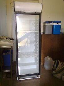 Commercial Single Glass Door Fridge