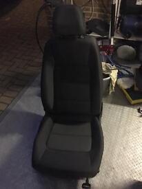 Genuine Volkswagen Touran 2013 Cloth Drivers Seat
