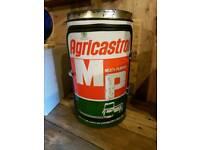 Agricastrol oil can mini bar/ cupboard