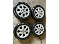 Vauxhal Astra van sportive alloy wheels 4x100