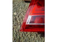 Audi A4 S4 convertible rear light