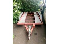 Car trailer. Perfect condition. Braked wheels