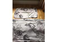 Next double bed set (bedding)