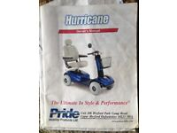 Hurricane mobility scooter for sale.