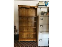 Solid Pine Book Case in very good condition