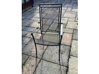 4 Royal Garden patio chairs,