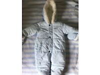 Absorba snow suit 6 months