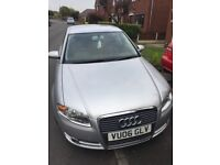 AUDI A4 2006 silver FOR SALE. BARGAIN. SELLING DUE TO MOVING ABROAD