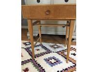 Vintage retro meredew side table