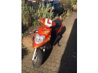 Yamaha BWS 70cc reg as 50 (not piaggio, gilera, aprilia, aerox, zip, runner)