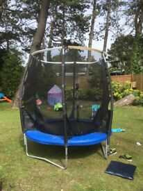 6ft plum trampoline with safety net
