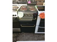 HOTPOINT 50CM SOLID TOP ELECTRIC COOKER