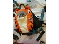 Kids reins backpack.