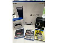 Sony PlayStation 5 PS5 Console Disc bundle sealed