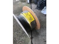 Prysmian PRYSMIAN LV ARMOURED 6943X 3-CORE CABLE 10MM² X 25M BLACK for sale in London 50% value.