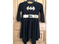 Batman Batgirl fancy dress costume, 8 to 10 years - ideal World Book Day