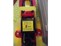 2 Ton Hydraulic Trolley Floor Jack Car Van Garage 2000kg Lift TUV CE UK