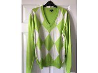 Galvin green jumper