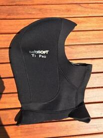 Seasoft Ti Pro Wetsuit Drysuit Hood - new!