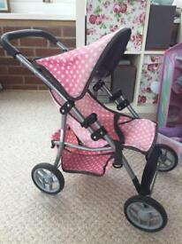 Molly Dolly dolls pushchair