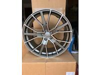 """20"""" RS6-D alloys wheels. Audi Q7. 9 months old. May also fit Q5. As new."""