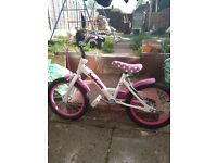 Girls 16 inch bike like new
