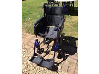 Wheelchair - folds to fit into the car