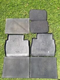 7 well looked after car mats (2 Volvo) - Kingsbury, London
