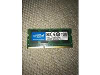 Crucial DDR3-1600 4GB Laptop Memory