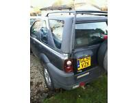 Breaking for parts Land-rover freelander td4 2.0d