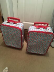 Two children's Cath Kidson Travel Cases