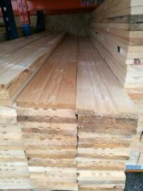 21mm x 170mm Planed Timber / Grooves 2.4mtr Lengths