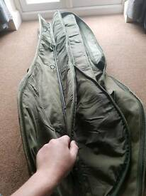 Trakker rod bag for 5 made up rods
