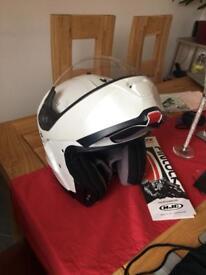 HJC flip front Helmet. XS