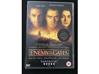 Enemy at the gates DVD Jude Law Joseph Fiennes