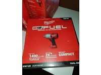 """Milwaukee M18FUEL1/2""""High Torque Impact Wrench 2767-20 w/ Friction Rin"""
