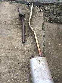 VW T5 Full Exhaust System