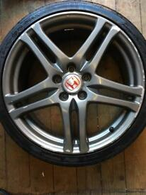2 Honda Rage alloys