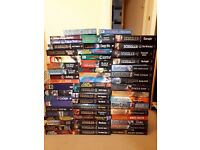 Collection of Books Clive Cussler, Eragon Series, Joe Abercrombie