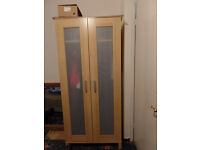 Ikea wardrobe and matching chest of drawers