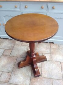 Solid wood Bistro table / pub table / side table - 3 available