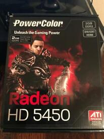 RADEON HD 5450 Graphic Card, 2GB DDR3 DVI/CRT/HDMI Ports