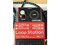 Boss RC-1 Loop Station Guitar Pedal