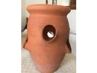 Terracotta Strawberry 6 plant/ Herb pot