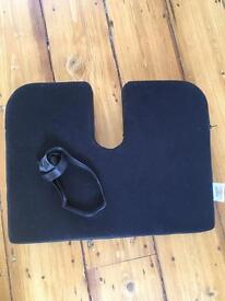 Lower back support cushion