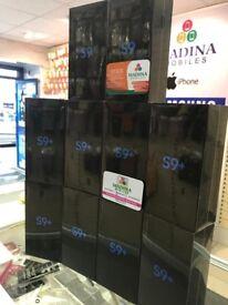 SAMSUNG GALAXY S9 PLUS 128GB UNLOCKED BRAND NEW BOXED WITH 2 YEARS SAMSUNG WARRANTY 100% UK STOCK