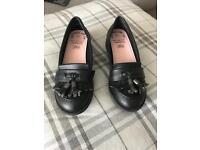 Girls School Shoes Size 1